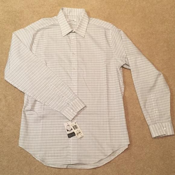 Calvin Klein Other - Calvin Klein Slim-Fit Button Up Shirt - NWT